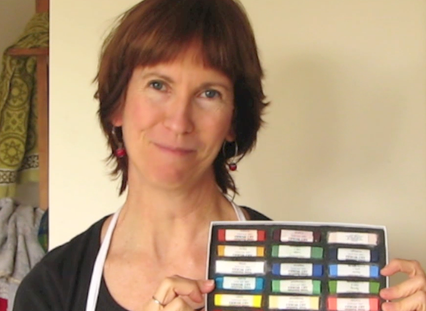 Gail Sibley's video shows you how to quickly sort your new box of pastels into values, something that's sooooo worth doing!