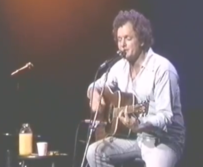 "Harry Chapin singing ""Flowers are Red"""