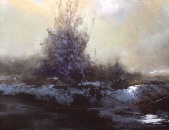 "A pastel gem - Anna Wainright, ""Weather Change,"" pastel, 12 x 16 in"