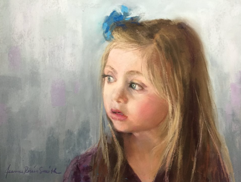 Pastel favourites: Jeanne Rosier Smith, Commission, pastel, 11 x 14 in