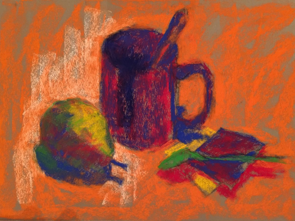 Beginning to shift values to correct range using Schminke pastels