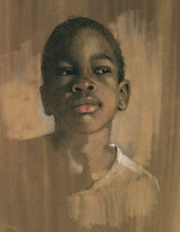"Pastel picks: Gail Piazza, ""Charles,"" pastel, 16 x 14 in"