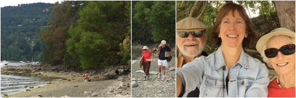 Pastel Finished?: En plein air on Salt Spring Island with Mum and Dad!