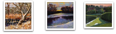 January's Phenomenal Pastels:  another three paintings seen in thumbnail