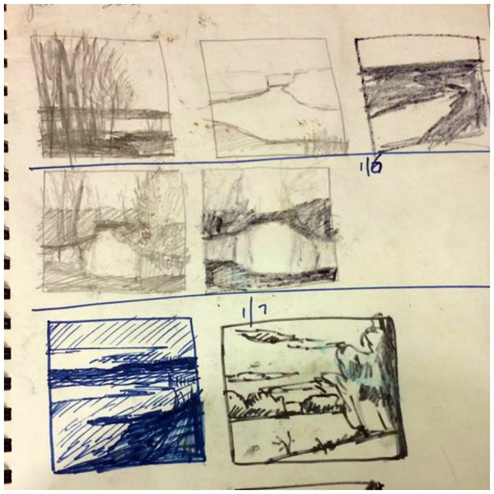 30 Paintings in 30 Days: Takeyce Walter, Thumbnails