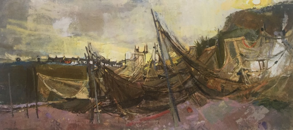 Joan Eardley and her pastel landscapes