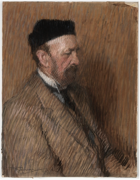 "Florence Rodway, ""George Whiting,"" 1913, pastel on paper, 63.5 x 49 cm, State Library of New South Wales, Sydney, Australia"