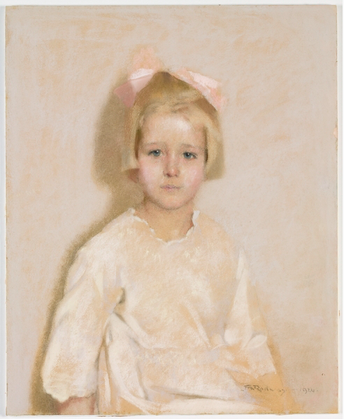 """Florence Rodway, """"Helen McIlrath,"""" 1924, pastel on paper, no size, State Library of New South Wales, Sydney, Australia"""