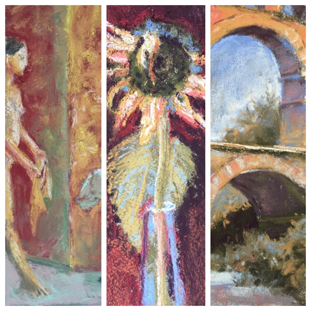 A few extremely cropped samples of my paintings from the 31 in 31 challenge.