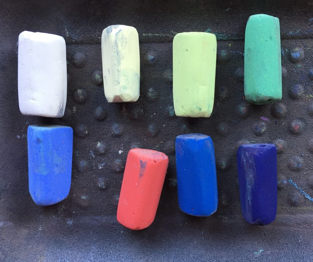 No Time To Paint? The eight Unison pastels used