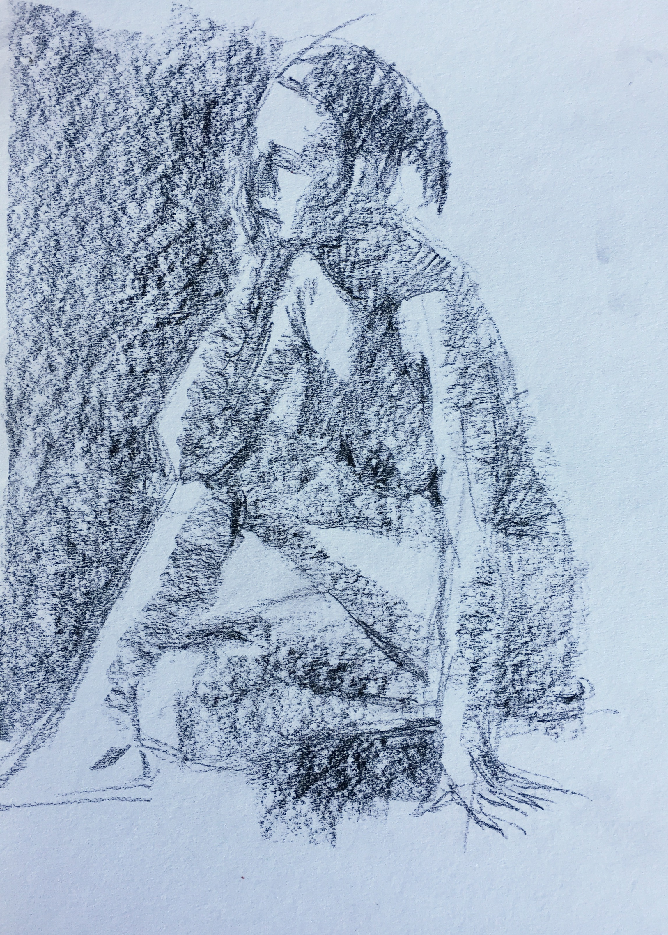 Life drawing: Ten-minute pose