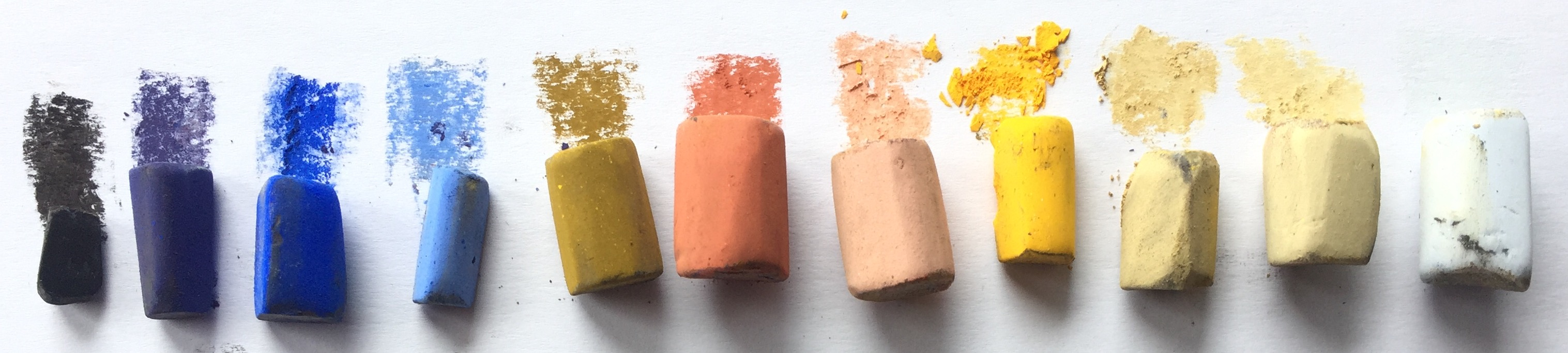 Breaking the rules: 11 Unison pastels used.