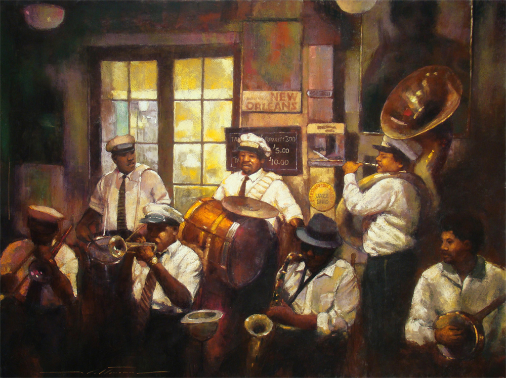 "Artist interview videos: Alan Flattmann, ""Preservation Hall Brass Band,"""
