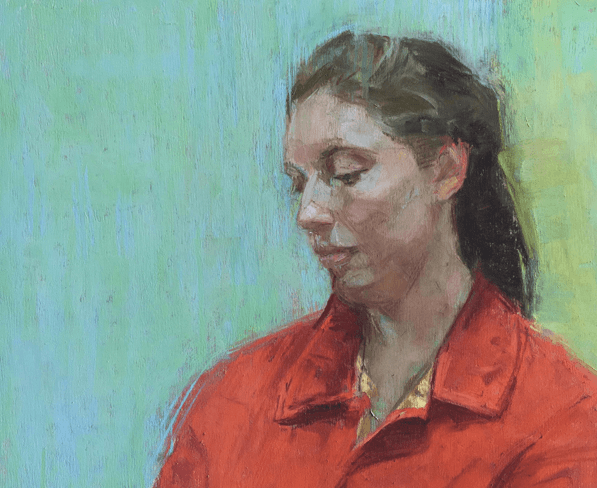 June's Unique Pastels: Elaine Despins, Madeline, pastel on UART paper,