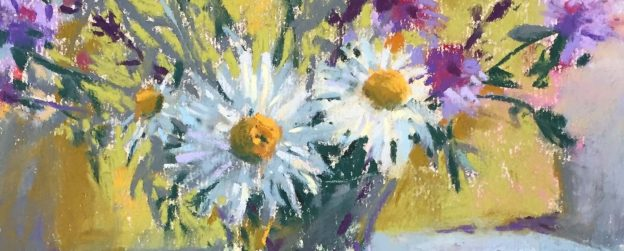 Detail of Summer Flowers in a Vase