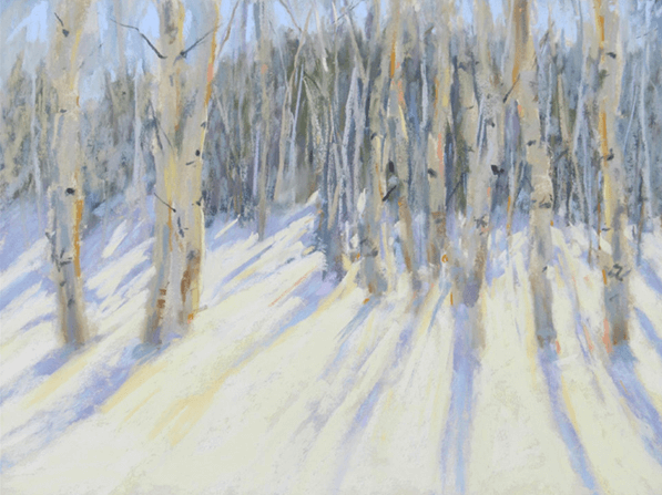 "June's Unique Pastels: Virginia Unseld, ""Radiance,"" pastel on UART paper, size unknown"