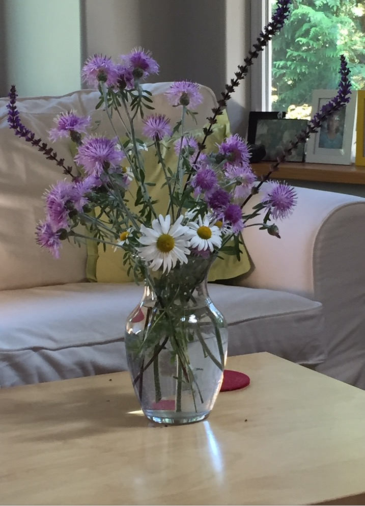 Reference photo for Summer Flowers In A Vase