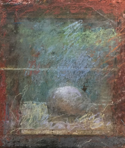 """October's outstanding pastels: Bill Creevy, """"Egg Chamber,"""" pastel, 10 x 8 in"""