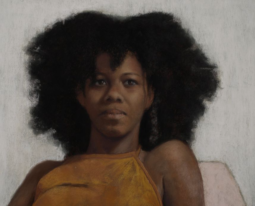 """October's outstanding pastels: Edward Stephen Robitz, Jr, """"Lacey,"""" pastel, 19 x 25 in"""