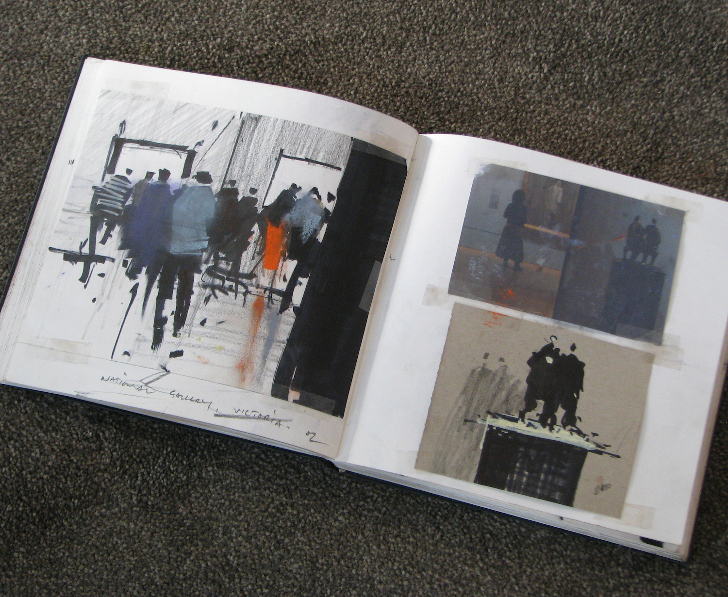 Tony Allain, sketchbook