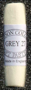 Painting a white object with colour: Unison pastel Grey 27