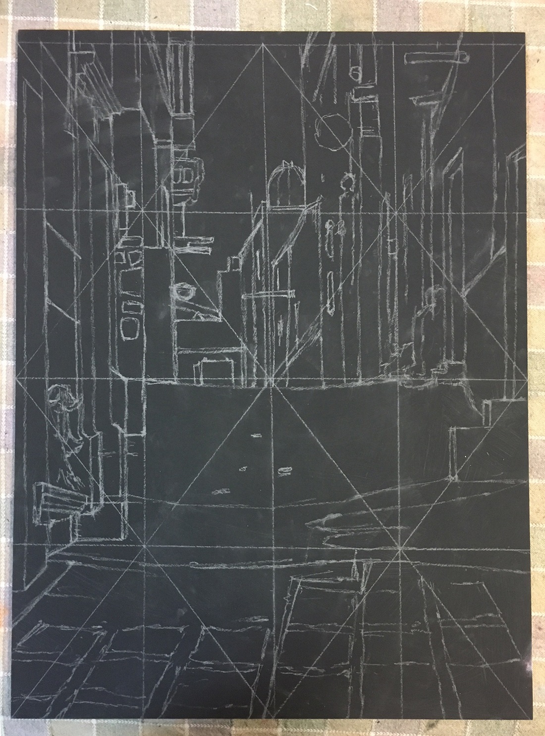 """Step 11. The completed drawing for """"Right Up My Alley"""" by Chris Ivers"""