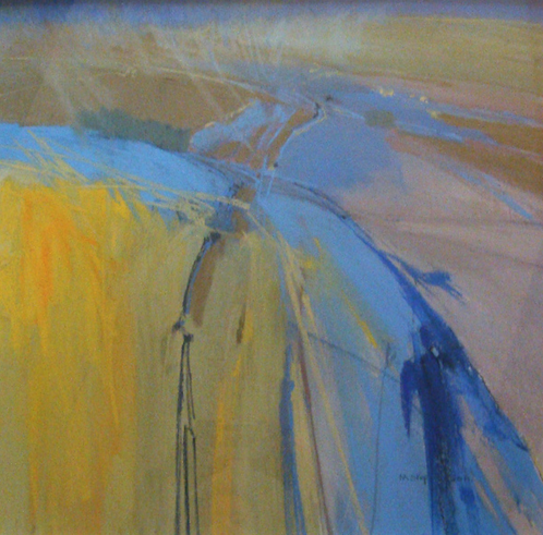 "February's awe-inspiring pastels: Norma Stephenson, ""Over the Dales,"" pastel, 27 1/2 x 27 1/2 in (70 x 70 cm)"