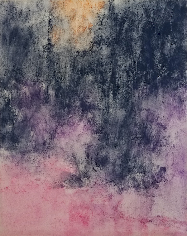 Barbara Jaenicke, sous-couche pour «Winter Evening Shimmer»