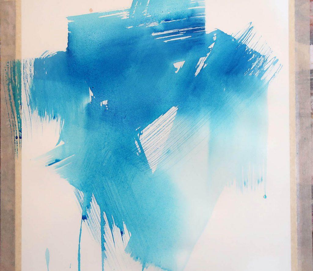 Debora Stewart - sous-couche d'acrylique fluide