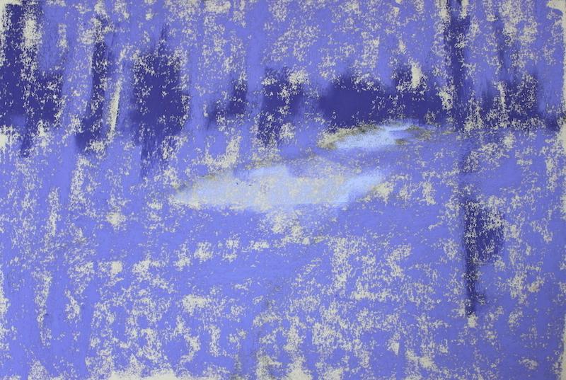 L'action est l'antidote: trois couleurs de première couche en trois valeurs créant mon sous-peinture.